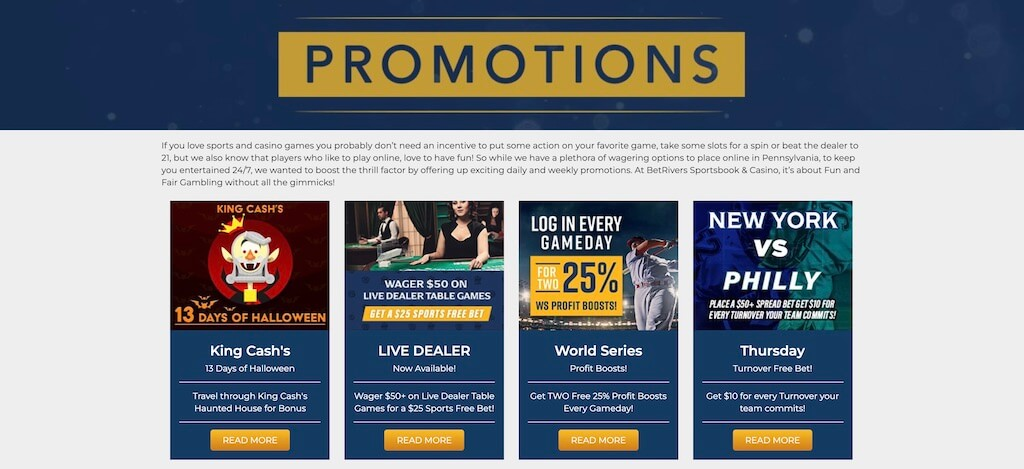 BetRivers Promotions