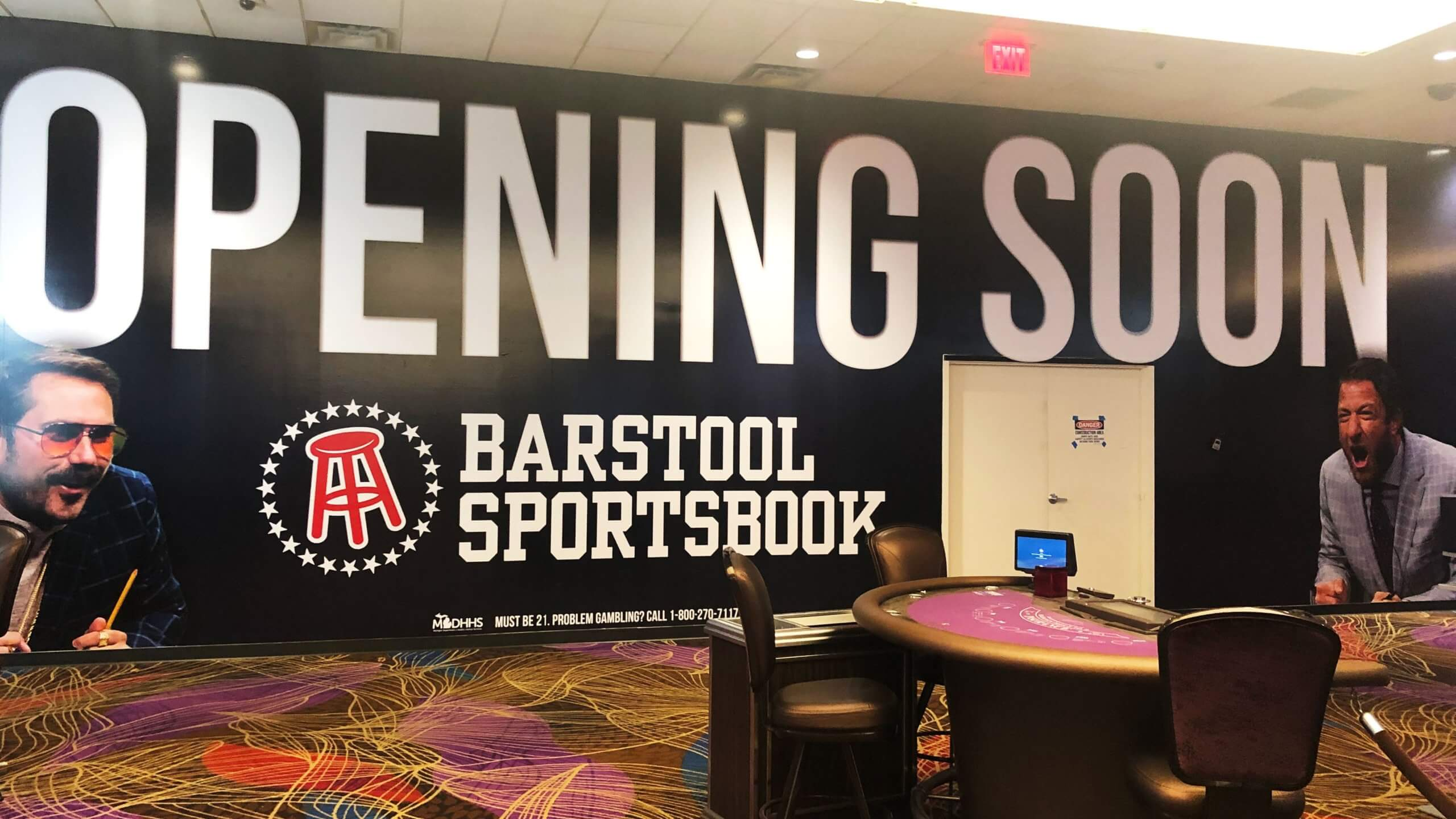 Barstool Sportsbook is Officially opening a retail sportsbook in Greektown Casino Michigan