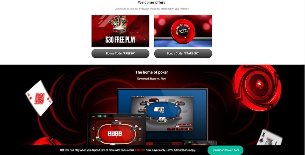 PokerStars Michigan Poker Promotions