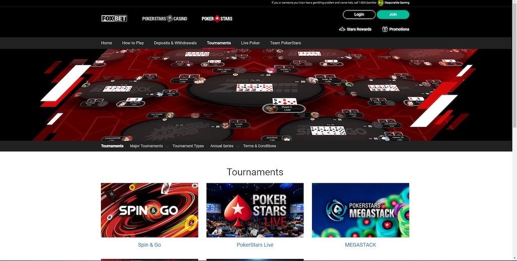 PokerStars Michigan Poker Tournaments