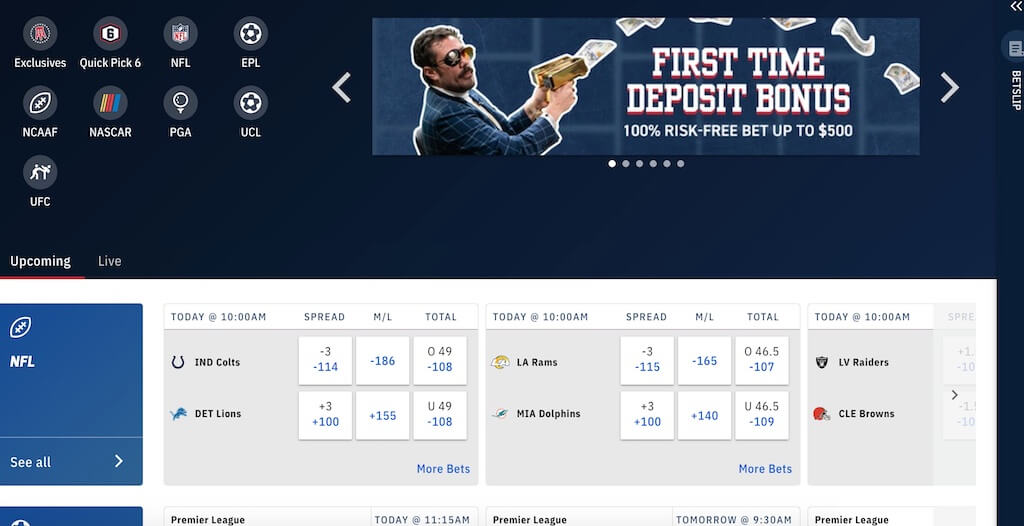Barstool Michigan Odds